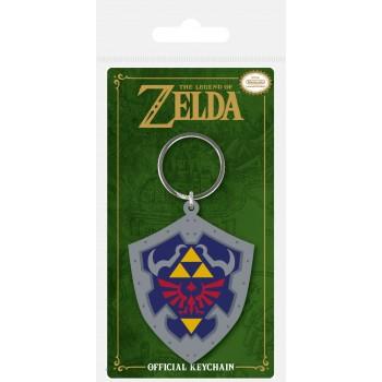 Pyramid Nintendo - the Legend of Zelda Shield Vinyl Keychain (Rk38698c)