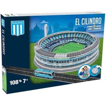Nanostad Παζλ 3D 108τεμ. Racing Club Γήπεδο El Cilindro
