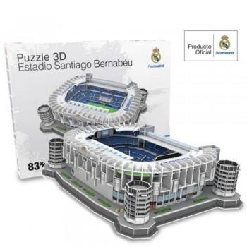 Nanostad Παζλ 3D 83τεμ. Ισπανία Γήπεδο Ρεάλ Μαδρίτης Santiago Bernabeu