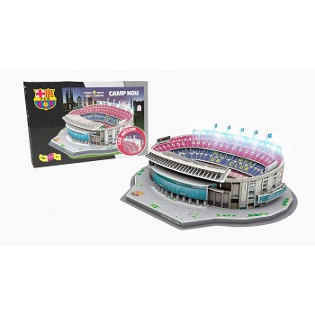 Nanostad Παζλ 3D 107τεμ. Ισπανία Γήπεδο Μπαρτσελόνα Camp Nou με LED Φώτα