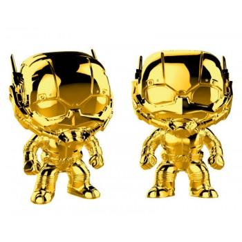 Funko Pop! Marvel Studios 10 - ant-man (Chrome) #384 Vinyl Bobble-Head Figure