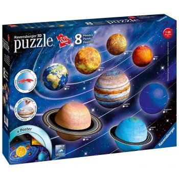 Ravensburger 3D Πάζλ 522τεμ. 11668 Planetary Solar System