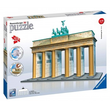 Ravensburger 3D Πάζλ 324τεμ. 12551 Brandenburg Gate