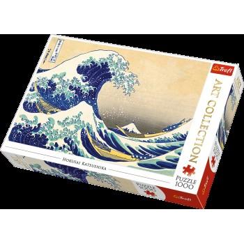 Trefl Πάζλ 1000τεμ. Art 10521 The Great Wave Of Kanagawa