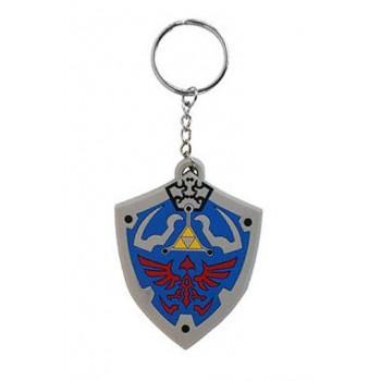Bioworld Europe Zelda - Hyrulian Crest Rubber Keychain (Ke141770ntn)
