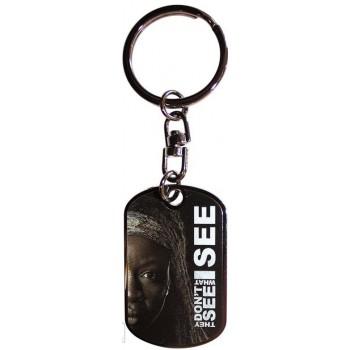 Abysse the Walking Dead - Michonne Metal Keychain (Abykey127)