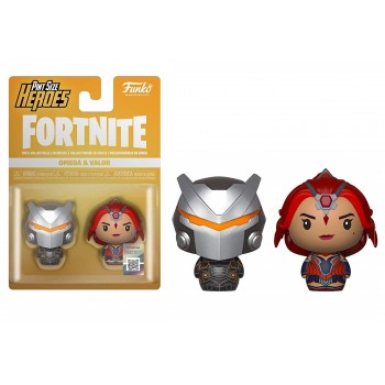 Funko Pint Size Heroes 2-Pack: Fortnite - Omega Valor
