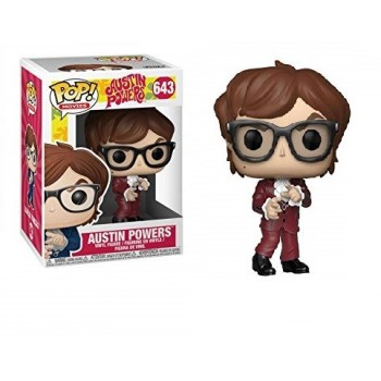 Funko Pop! Movie: Austin Powers - Austin (Red Suit) #643 Vinyl Figure