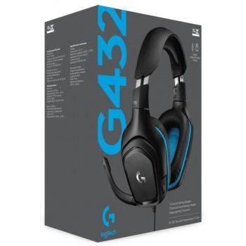 Logitech Gaming Headet G432 Black (981-000770)
