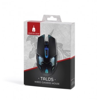 Spartan Gear Talos Wired Gaming Mouse