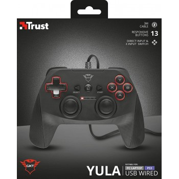 Trust gxt 540 Yula usb Wired Gamepad pc , ps3 (20712)
