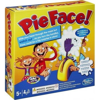 Hasbro Pie Face - Board Game IN Greek (b7063)