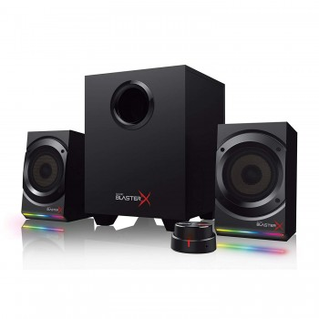 Creative Sound BlasterX Kratos S5 2.1 Gaming Speaker System with Customizable RGB Lighting (51MF0470AA000)