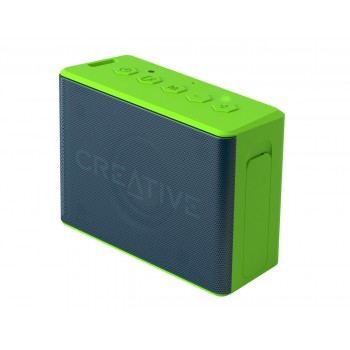 Creative Speaker MUVO 2c Palm-sized Water-resistant Bluetooth® Speaker with Built-in MP3 Player Blue Green (51MF8250AA011)