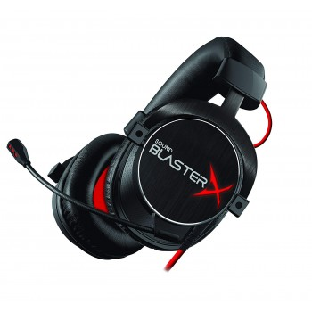 Creative Gaming Headset Sound BlasterX H7 Tournament 7.1 Surround Pro, Black (70GH033000001)