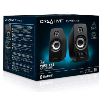 Creative Speakers T15 Wireless 2.0 Wireless Bluetooth® (51MF1670AA000)