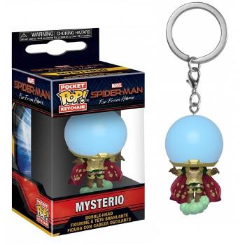 Funko Pocket Pop! Marvel Spider-man far From Home - Mysterio Bubble-Head Figure Keychain