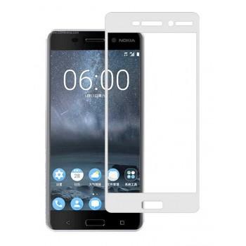 Powertech Tempered Glass 3D Full Face Για Nokia 2, White Pt-637