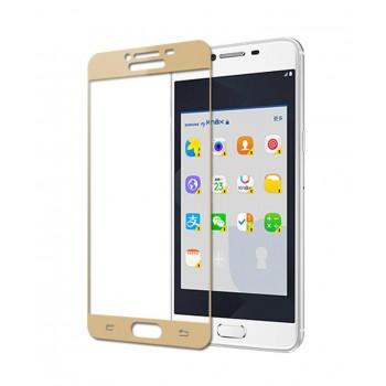 Powertech Tempered Glass 3D Full Face Για Samsung J2 Pro 2018, Gold Tgc-0065