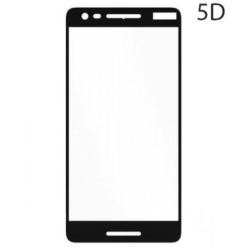 Powertech Tempered Glass 5D Full Glue Για Nokia 2,1, Black Tgc-0209
