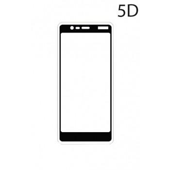 Powertech Tempered Glass 5D Full Glue Για Nokia 5.1, Black Tgc-0212