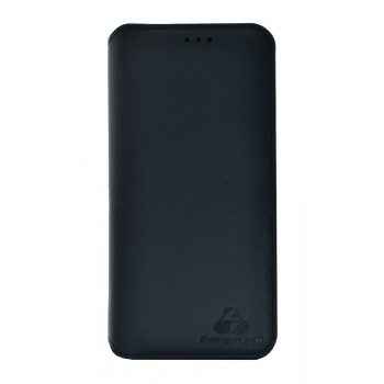 Powertech Θήκη Slim Leather Για Honor 8x, Γκρι Mob-1183