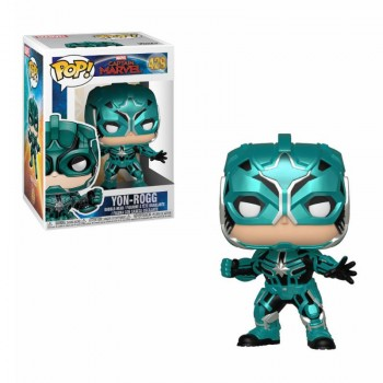 Funko Pop! Marvel Captain Marvel - Star Commander Yon-Rogg #429 Vinyl Bobble-Head Figure