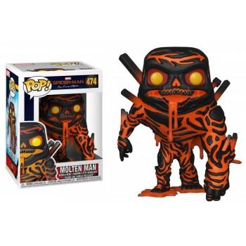 Funko Pop! Marvel Spider-man Far From Home - Molten Man #474 Bobble-head Vinyl Figure