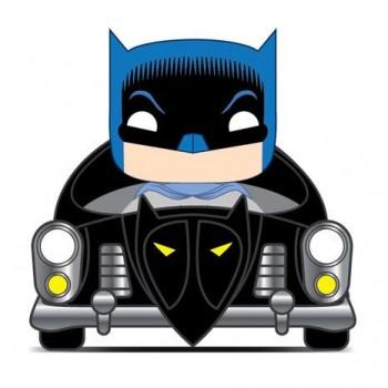 Funko Pop! Rides Heroes: Batman 80 Years - Batmobile (1950) #277 Vinyl Figure