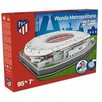 Nanostad Παζλ 3D 95τεμ. Ισπανία Γήπεδο Αθλέτικο Μαδρίτης Metropolitan 34007