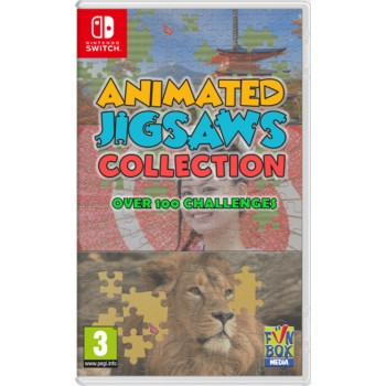 Nintendo Switch Animated Jigsaws Collection (code in a Box)