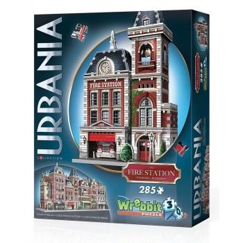 Wrebbit Παζλ 3D 285τεμ. (W3D-0505) Urbania Collection - Firestation