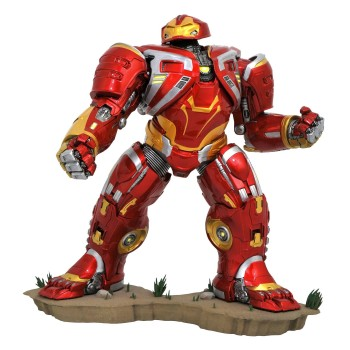 Diamond Select Avengers Infinity War Marvel Movie Gallery PVC Statue Deluxe Hulkbuster MK2 25 cm (JAN192549)