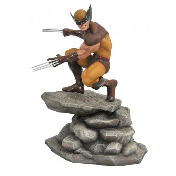 Diamond Select Marvel Gallery PVC Statue Brown Wolverine 23 cm (APR182171)