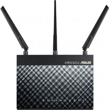 Asus DSL-AC68U - Dual-Band Wireless-AC1900 Gigabit ADSL/VDSL Annex A&B Modem Router (90IG00V1-BM3G00)