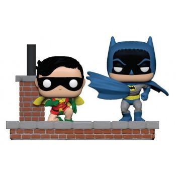 Funko Pop! Heroes Comic Moments: Batman 80th - Batman and Robin (New Look Batman 1964) #281 Vinyl Figures
