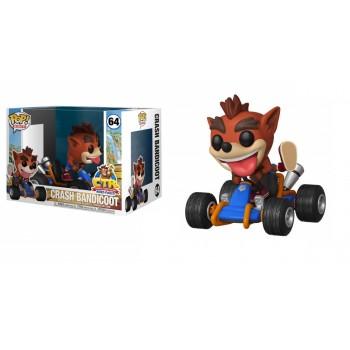 Funko Pop! Rides: Crash Team Racing - Crash Bandicoot #64 Vinyl Figure