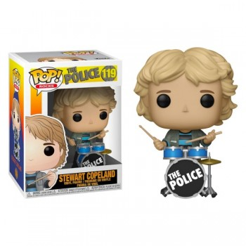 Funko POP! Rocks - The Police - Stewart Copeland #119 Vinyl Figure