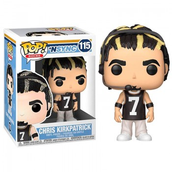 Funko Pop! Rocks: Nsync - Chris Kirkpatrick #115 Vinyl Figure