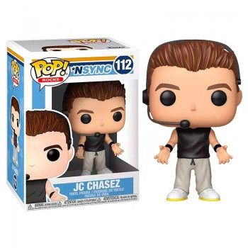 Funko Pop! Rocks: Nsync - jc Chasez #112 Vinyl Figure