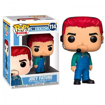 Funko Pop! Rocks: Nsync - Joey Fatone #114 Vinyl Figure