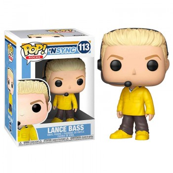 Funko Pop! Rocks: Nsync - Lance Bass #113 Vinyl Figure