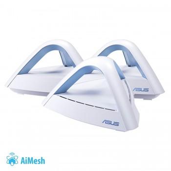 Asus Ac1750 Mesh Router Lyra 3-Pack (90ig04m0-Bo3r10)