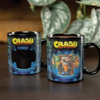 Paladone Crash Bandicoot - Heat Change Mug (PP5123CR)
