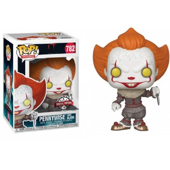 Funko POP! Movies IT Chapter 2 - Pennywise with Blade (Special Edition) #782 Vinyl Figure
