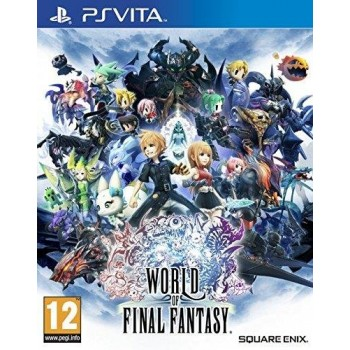 Psvita World of Final Fantasy