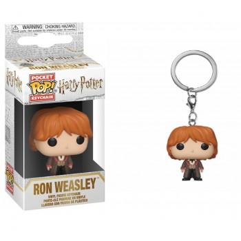Funko Pocket Pop! Harry Potter - ron (Yule) Keychain