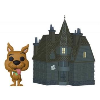 Funko Pop! Town: Scooby Doo! - Scooby Doo & Haunted Mansion #01 Vinyl Figure