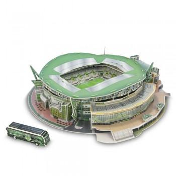 Nanostad Παζλ 3D 116τεμ. Πορτογαλλία Γήπεδο Σπορτινγκ Λισαβώνας - Jose Alvalade (35103)