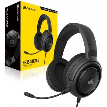 Corsair Stereo Gaming Headset HS35 Carbon CA-9011195-EU (PC,Mobile,PS4,Xbox One,Switch)